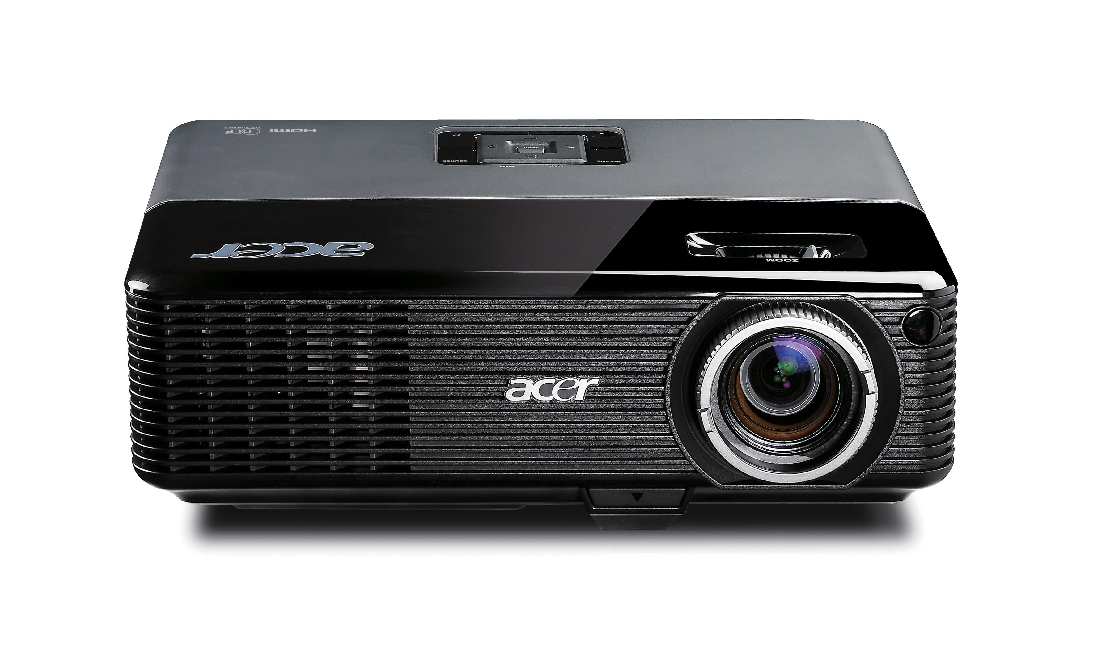 Acer Projektoren: Acer P1266 XGA DLP Beamer
