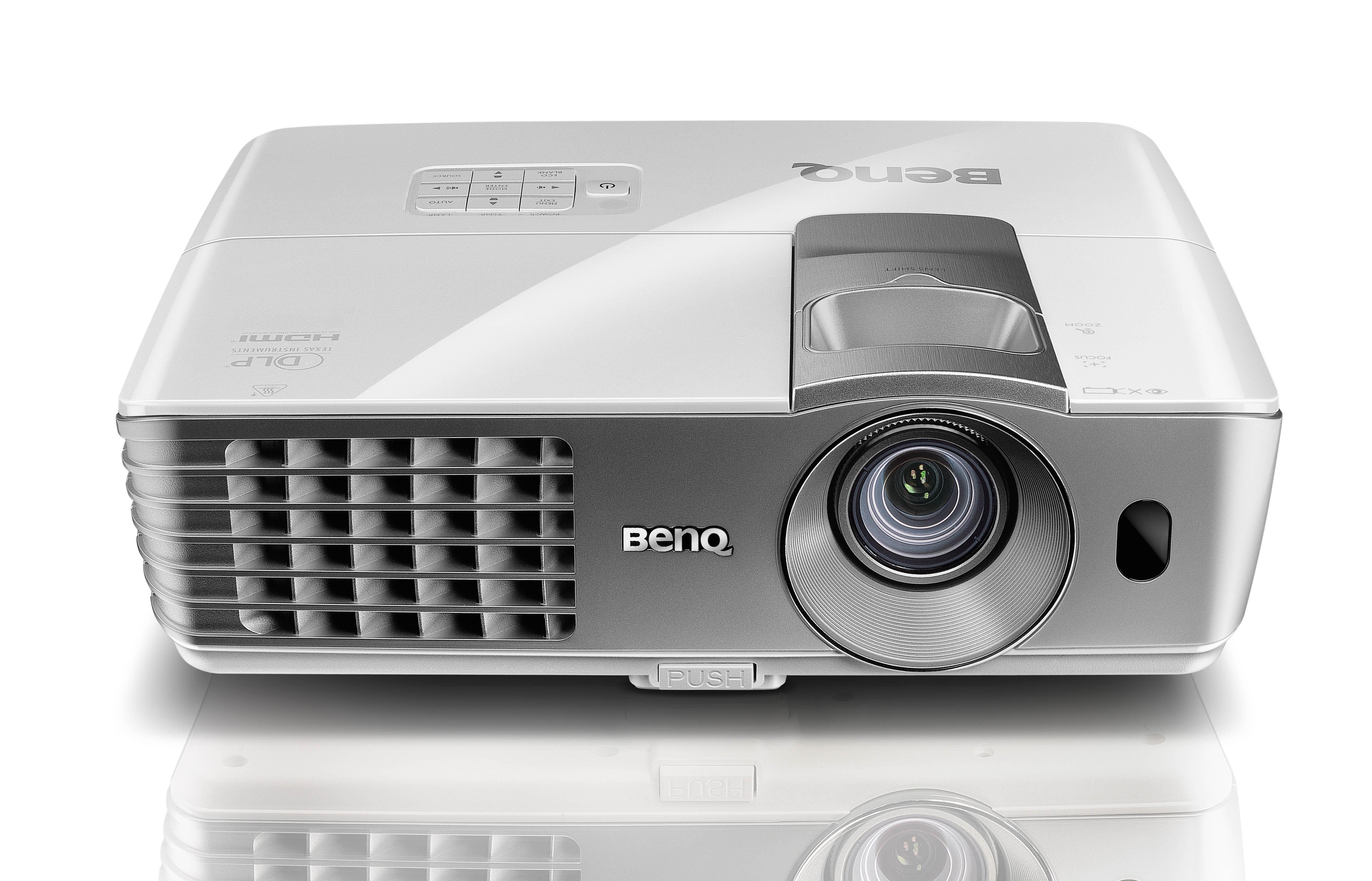 benq projektoren: benq w1070 hdtv dlp beamer, Wohnzimmer dekoo