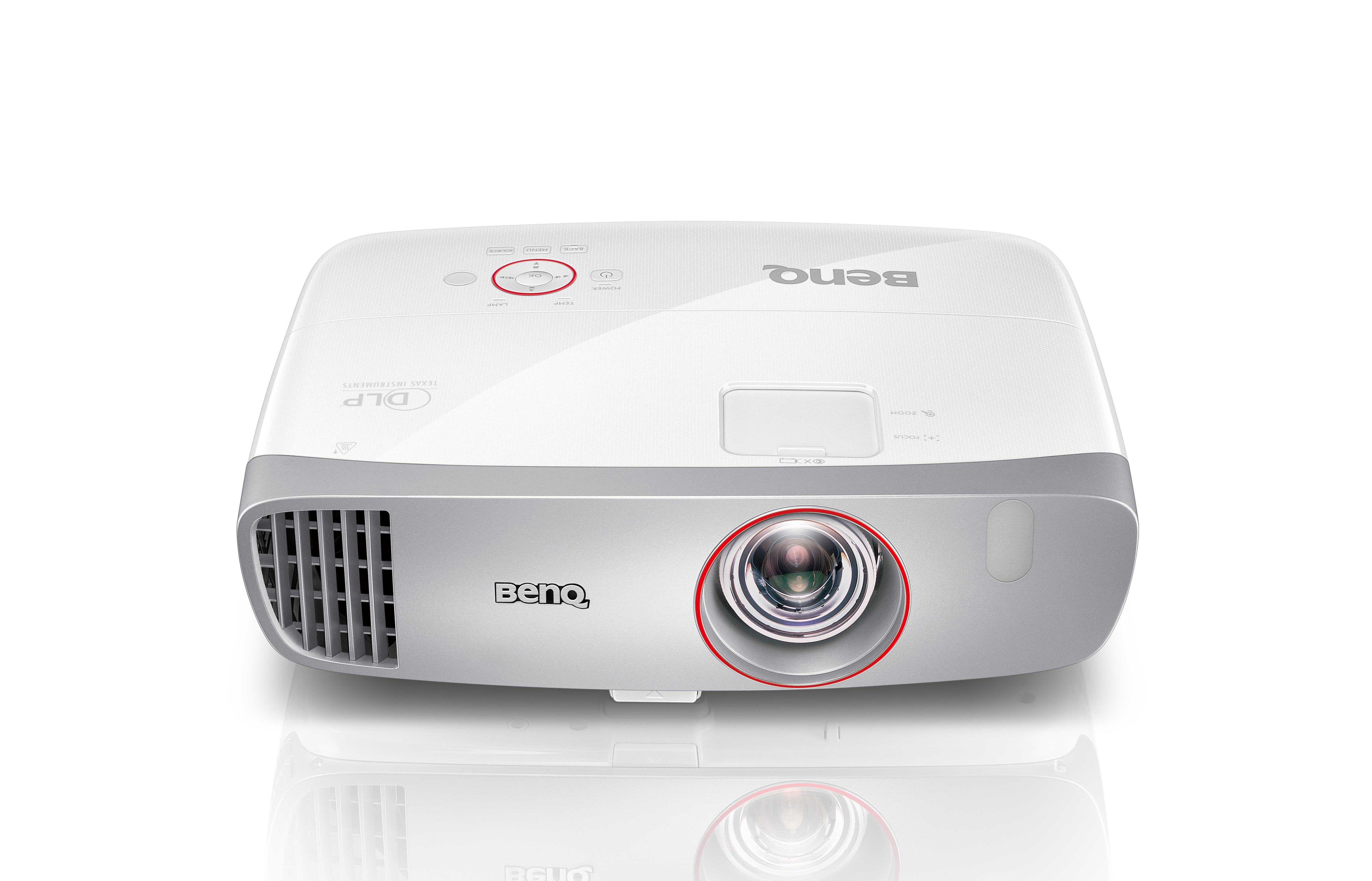 Benq Projektoren Benq W1210ST HDTV DLP Beamer