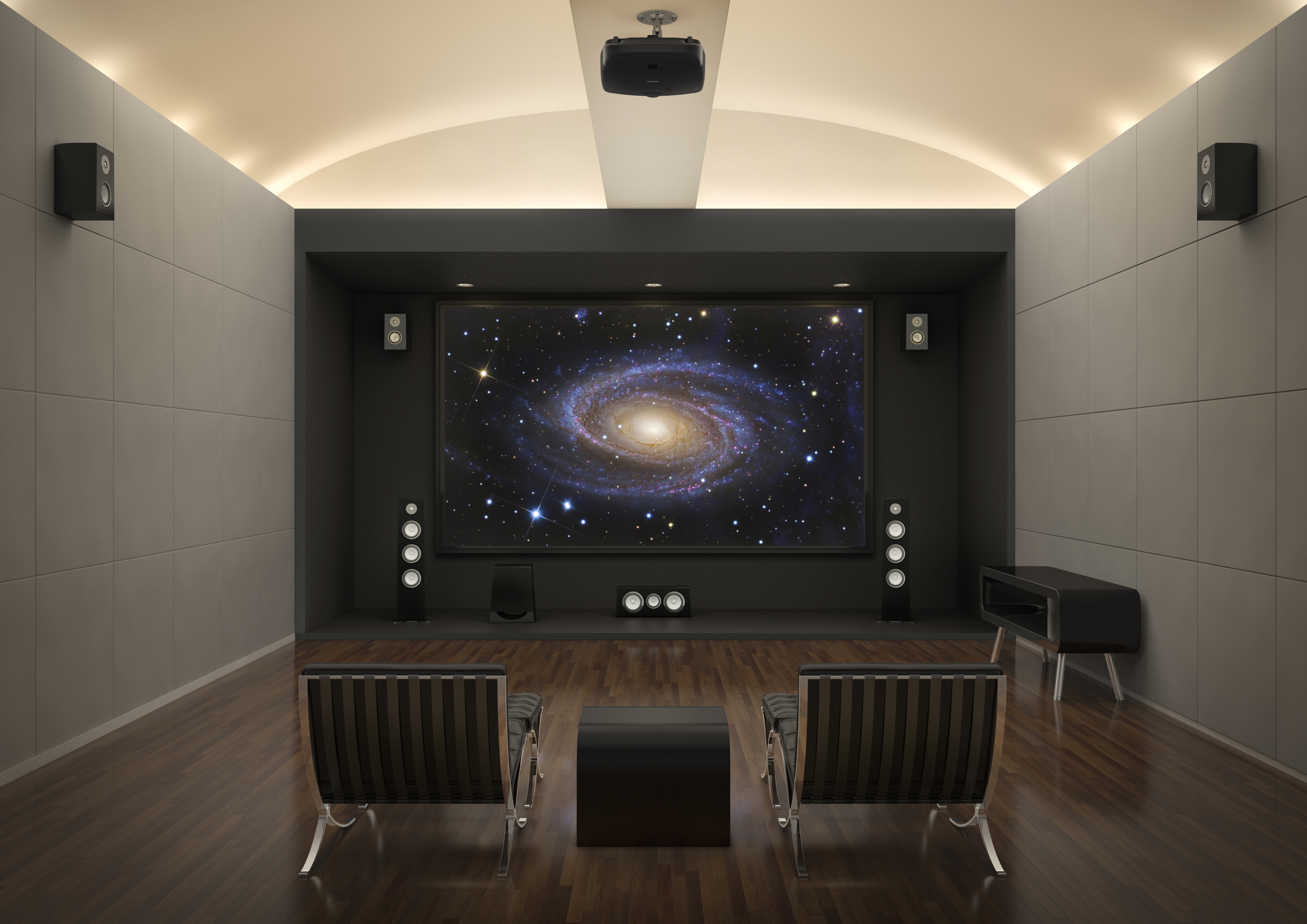 Scherm voor LCoS projectie