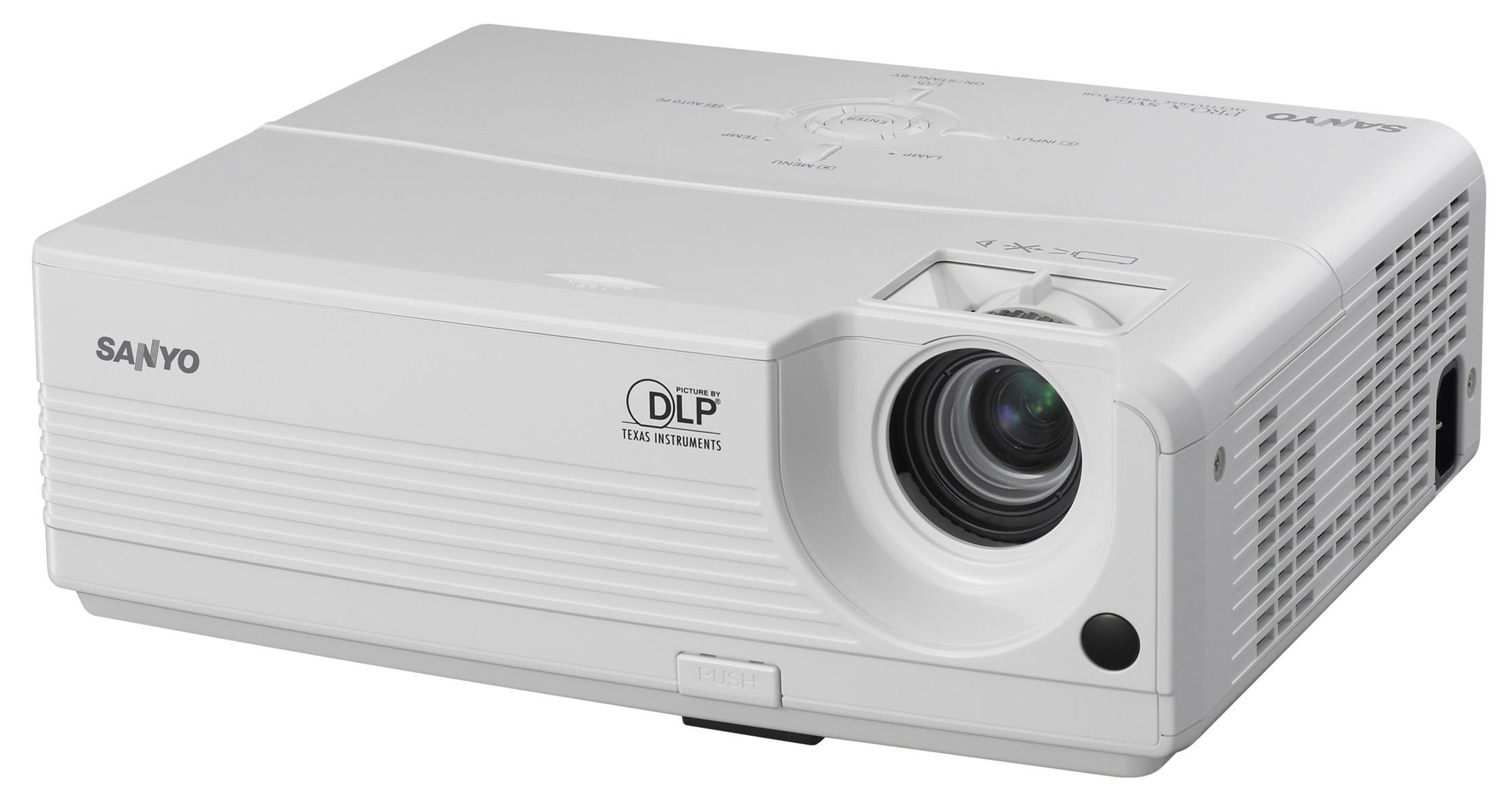 Beste Sanyo Projektoren: Sanyo PDG DSU21/N SVGA DLP Beamer WG-19