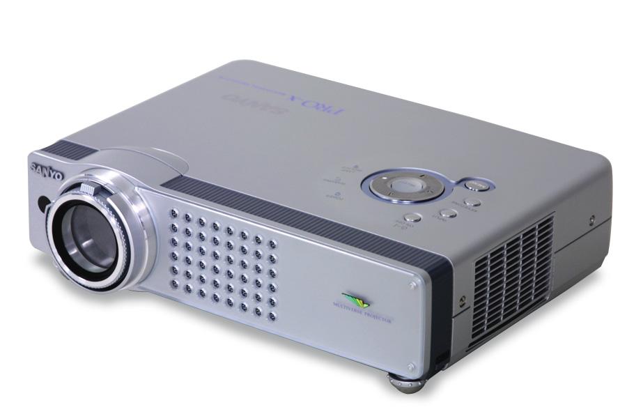 Betere Sanyo Projektoren: Sanyo PLC XU58 XGA LCD Beamer MX-04